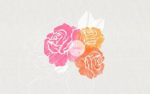 Roses by Cocorrina 2560x1600 by cocorie
