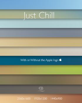 Just Chill wallpaper pack by epicXbread
