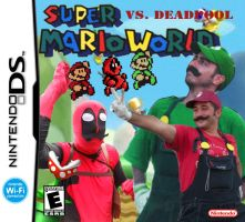 Super Mario World vs. Deadpool for NDS by ANTONIOMASTERPERES