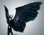 Maleficent by TheJw