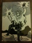Wiccan Sketchcard by JoelRCarroll