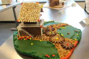 Gingerbread Cuckoo Clock (side view) by recycledrapunzel