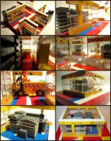 LEGO Starship Computer Complex by Frohickey