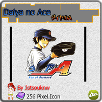 Daiya no ace - Anime Icon by jstsouknw