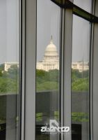Capitol from Hirshorn by abentco