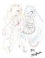 :collab: Flora And Gaby by SilvFlora97