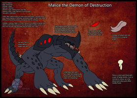 Malice reference sheet by NuclearZombie18