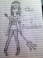 Daughter of Poseidon - Sketch by Artemis015