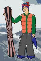 Salmir the Snowboarder by SalmirAeon