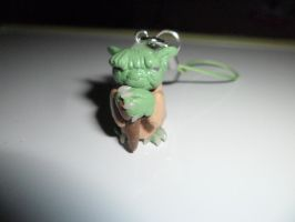 Star Wars: Yoda Clay Phone Charm by Jounin-SZ