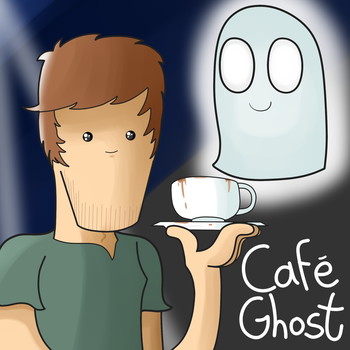 Cafe Ghost (actual) painting PRACTICE! by Althric
