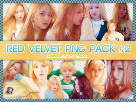 Red Velvet PNG PACK #2 by Angelicapark