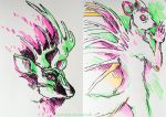 Highlighter drawings by gescheitert