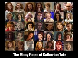 Many Faces of Catherine Tate by pfeifhuhn