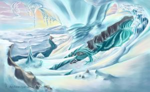 Ice Valley-01 (alternate color) by Andaraviyar