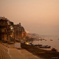 Dawn Ganges by AndrewToPhotography