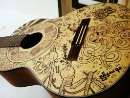 my guitar wip !!! by Hamzeh-Kalimat