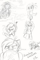 Random Sketches 01 by MusicFireWind