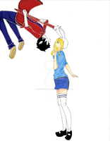 Fiona And Marshall Lee by LetTheWorldSlipAway