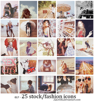 icons 17 - stock fashion by 2QL4SKL