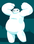 BAYMAX by horrorshowdoctor