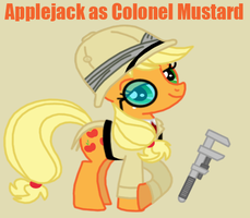 My Little Clue 3 - Applejack by Death-Driver-5000