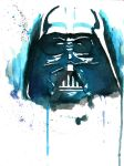Darth Vader (Watercolor) by an18