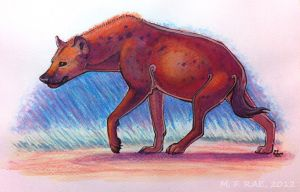 2012: Hyena, Pastel Play by kickingrabbit