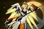 Mercy-Overwatch by IronicRocknrolla