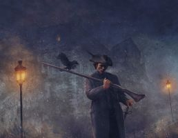 Night Watchman by JasonEngle