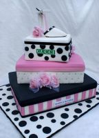 Box of shoe Cake by Verusca