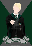 Draco Malfoy (Slytherin) by Grookere