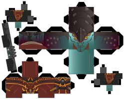 Cubeecraft Template javik by gurlgotkat2000