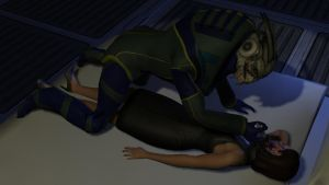 Goodnight Shepard by ImperatorAlicia
