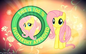 Fluttershy Approved by XxStrawberry-RosexX