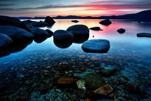 Peace Along Tahoe's East Shore by sellsworth