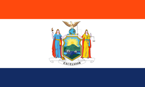 New York State Flag Proposal By S R Barlow by DesertStormVet
