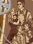 Kelly Family, Circa 1942 by HyperBali