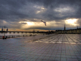Evening at Bordeaux by BluePalmTree