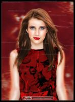 Emma Roberts by HRH-Production by Visual3Deffect