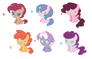Pinkie Pie Shipping Adoptables (Closed) by Sori-Adopts-n-Bases