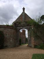 Oxburgh Hall gate by clare13