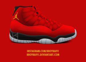 Air Jordan 11 'China' by BBoyKai91