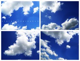 Cloud Textures - 4 Photo Pack by Afer-Photography
