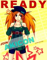 Ready recuiting poster 4 by AKI-Con