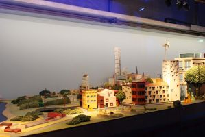 Model of Malmo city by KamratFrida