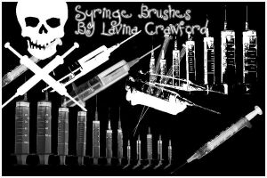 Syringe Brushes by lavina15