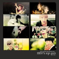 DB's sign pack p1 by aqua241