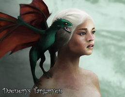 Game of Thrones - Daenerys Targaryen by Nicetti