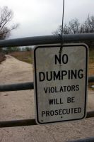 Do Not Dump by Genuine-Atramentous